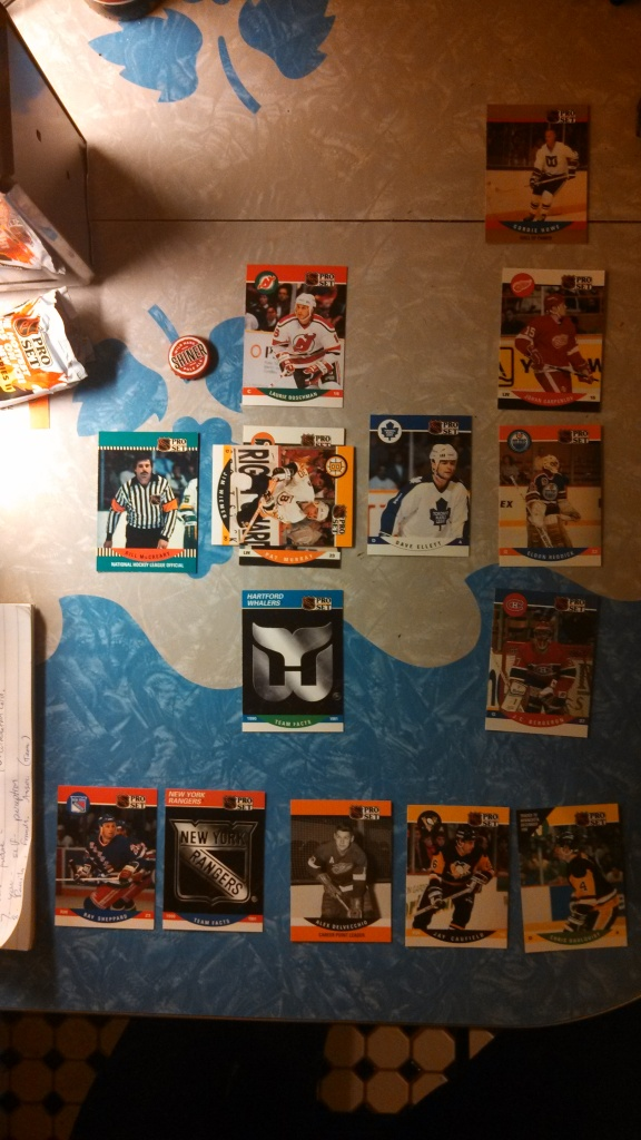 Hockey Card Tarot Reading